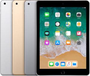 iPad 5th gen repair, screen replacement, battery replacement
