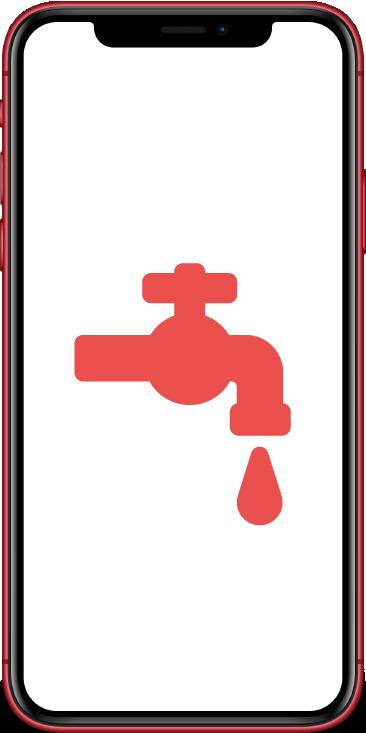 Liquid treatment Apple iPhone repair Bournemouth