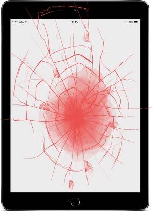 Screen Apple iPad repair Bournemouth