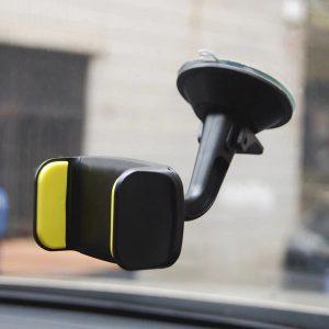 Black Extendable Windshield 360 Rotatable Car Phone Holder