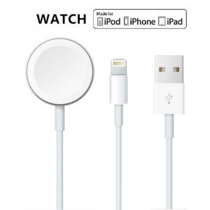 2 in 1 Magnetic Wireless Charger For Apple Watch 100cm
