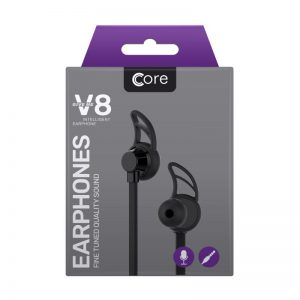 Earphones Core V8 Black