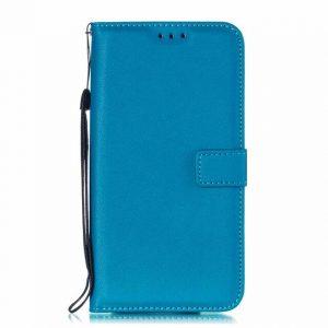 Blue Flip Wallet Case for Sony Xperia XA2