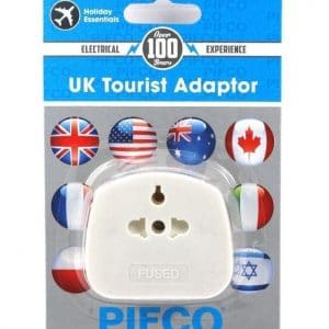 PIFCO UK Tourist travel Adaptor