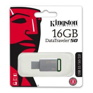 Kingston DataTraveler 50 memory stick 16gb