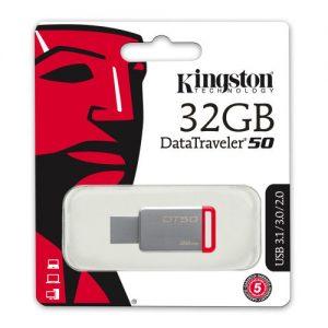 Kingston DataTraveler 50 memory stick 32GB