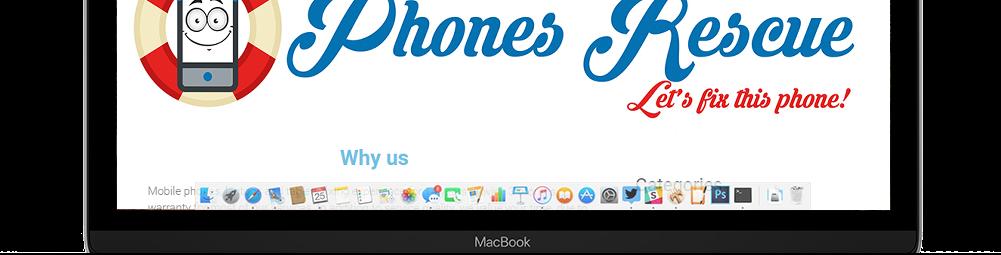 MacBook screen Phones Rescue