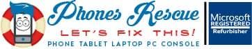 Phones Rescue Logo