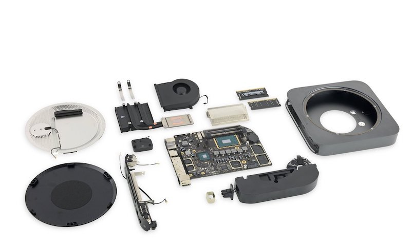 Mac mini inside Phones Rescue