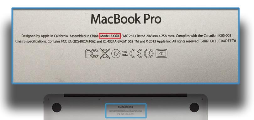 MacBook Model Number Phones Rescue