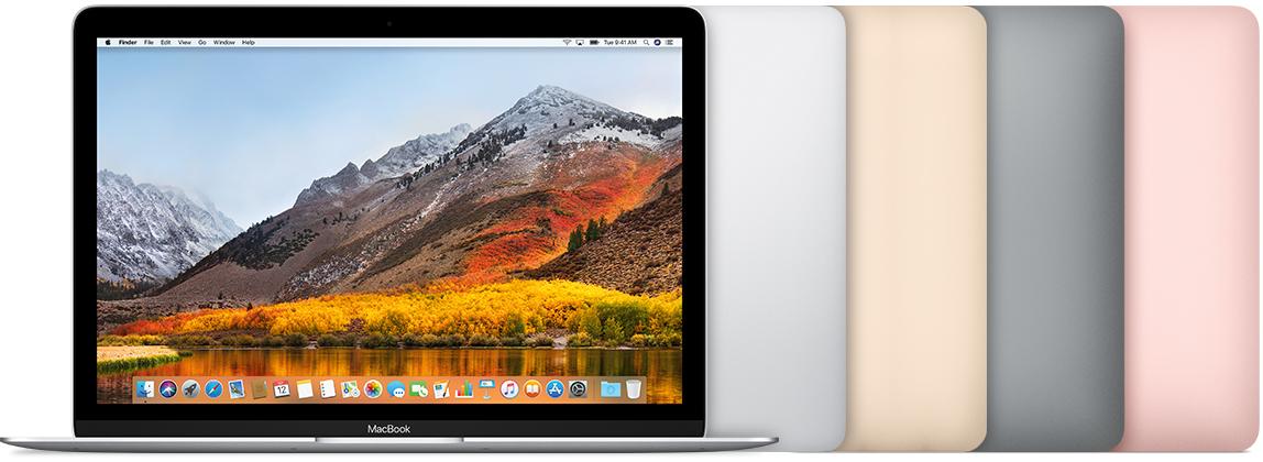 MacBook (Retina, 12-inch, 2017) Phones Rescue
