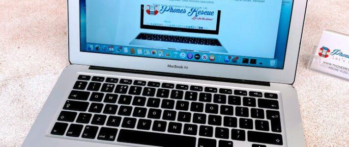 MacBook Air A1466 WiFi card not detected repair